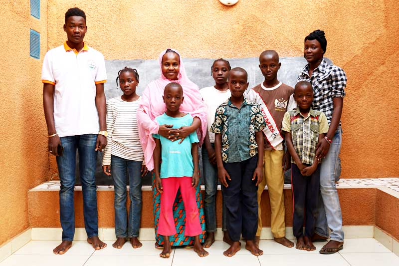 SOS family in Niger