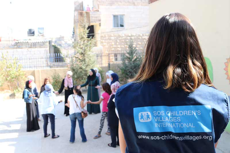 SOS Children's Villages worker in Amman, Jordan