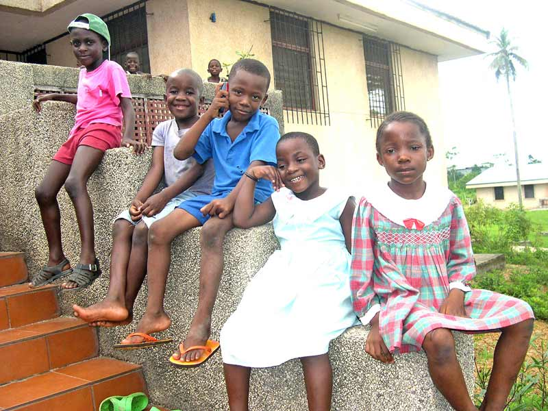 Sponsored children in Equatorial Guinea