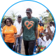 Pascal Siakam visiting SOS Children's Village Douala.