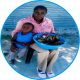 Mother with child in the SOS Family Strengthening Program in Ondangwa, Namibia