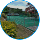 Refurbished multi-purpose court at SOS Children's Village Barrett Town in Jamaica
