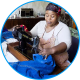 Lungile sewing jeans