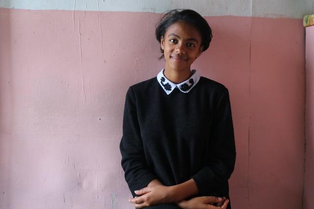 Tizita smiling for a picture.