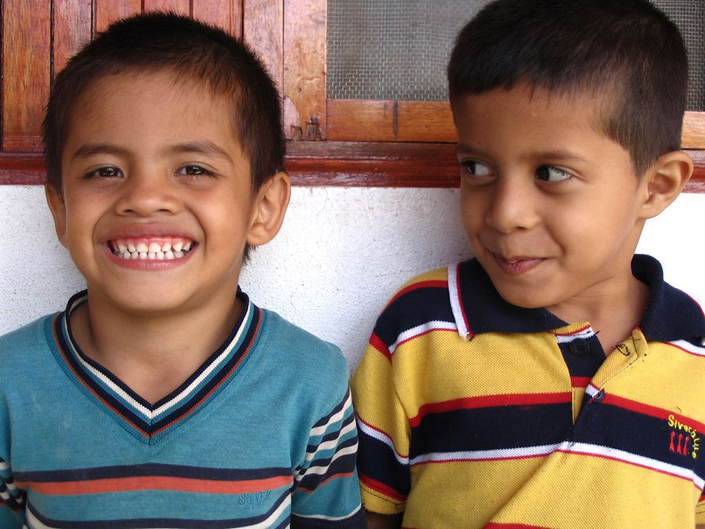 Two sponsored children in Nicaragua