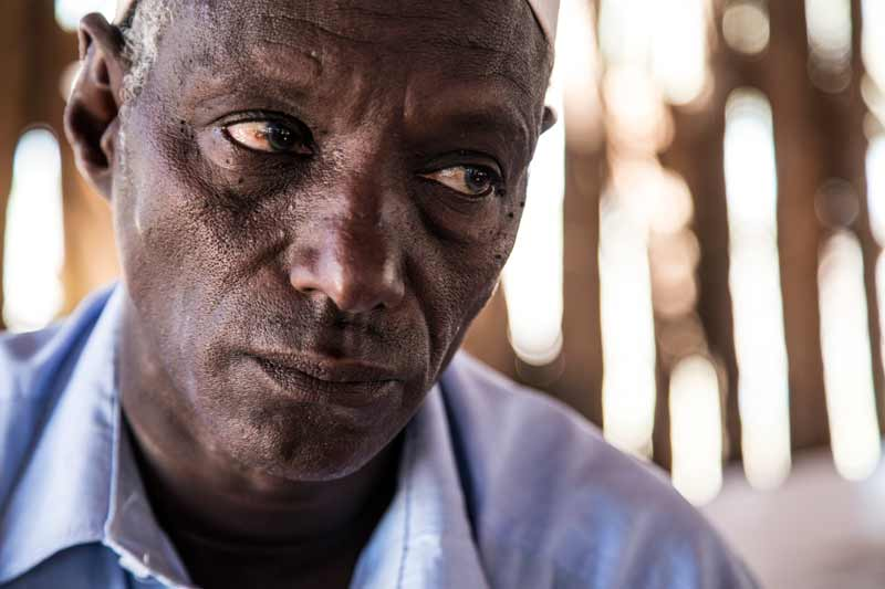 A pastoralist laments the loss of his livelihood