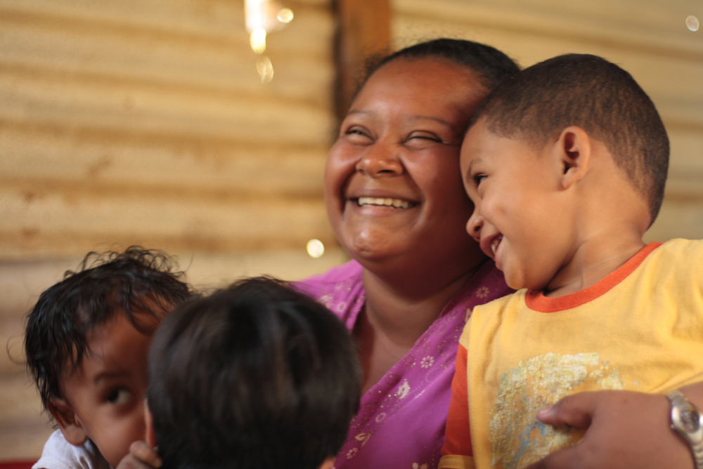An SOS Village is where sponsored children find a mother and a home