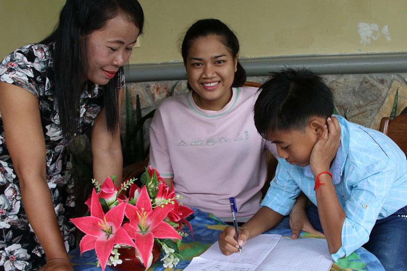 SOS family in Cambodia